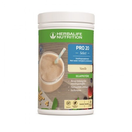 PRO 20 Select vanille - met water mengbare proteïneshake