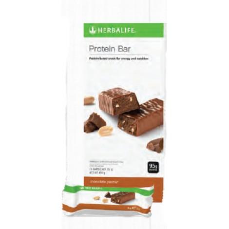 Proteïnerepen - Chocolade Pinda (14 repen)